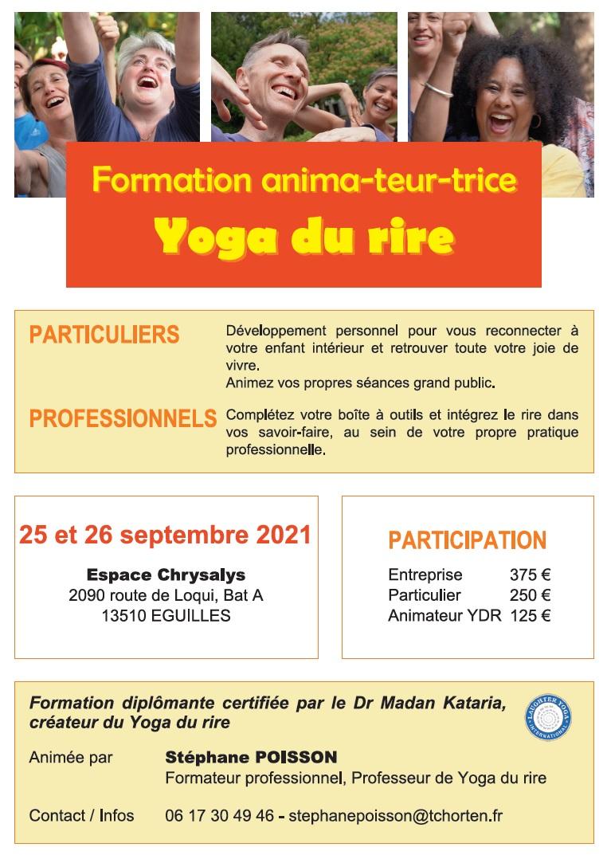 Formation Yoga du Rire Septembre 2021
